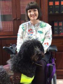 Gina - The office dog